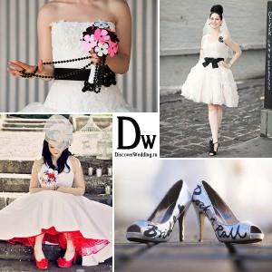 свадебное платье рок н ролл